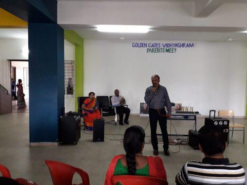 Glimpse of Parent – Teacher meeting @ GGV